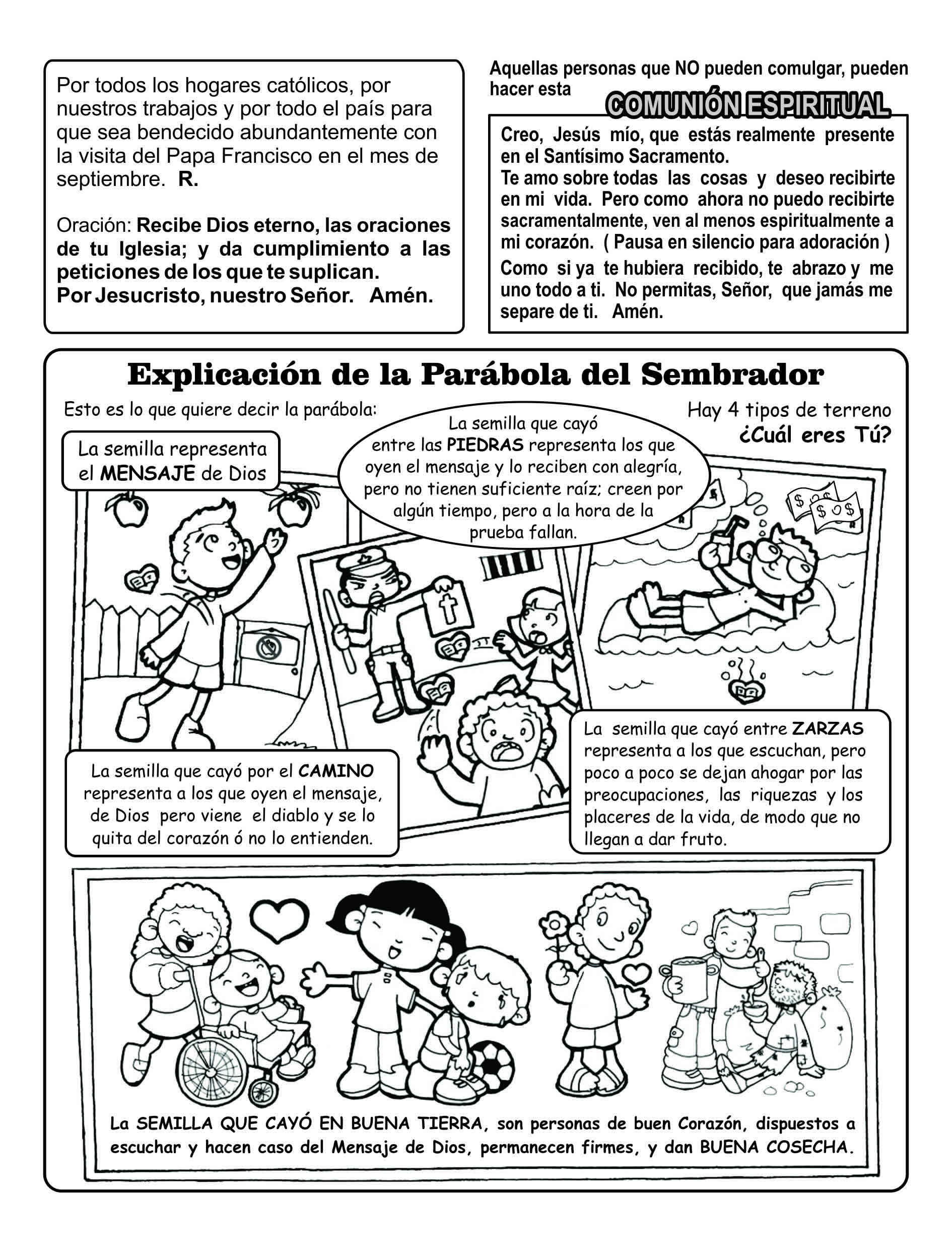 HOJITA DOMINICAL – Página 8 – Llévame donde los hombres necesiten ...