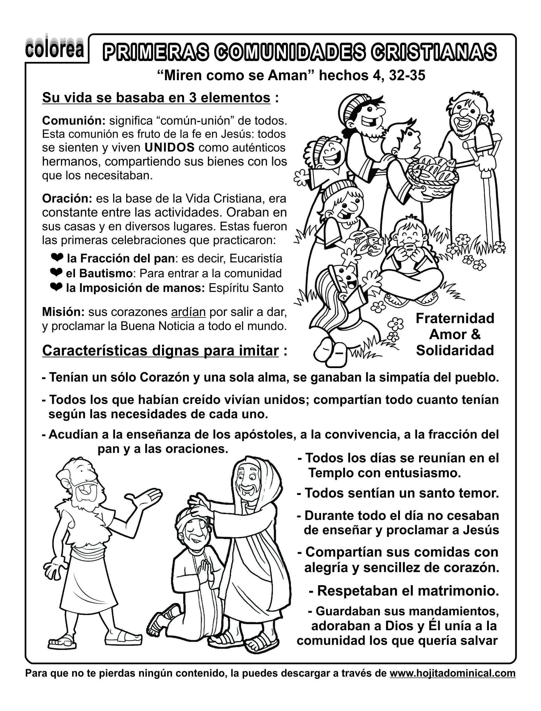 Encantador El Bautismo Católico Para Colorear Adorno - Dibujos Para ...
